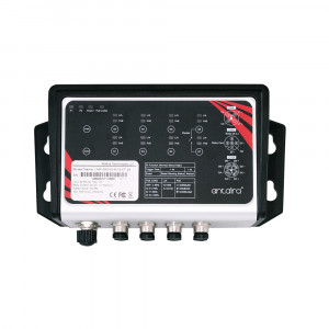 Antaira LNP-0800G-M12-67 8-Port   PoE+ Unmanaged Gb Ethernet Switch, 30W/Port