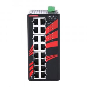 Antaira LNP-1600G (-T) 16-Port Unmanaged Gigabit Ethernet Switch