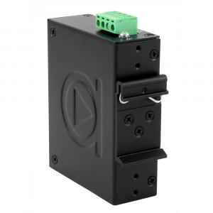 Antaira LNP-C500G 5-Port PoE+ Unmanaged Gb Ethernet Switch, 30W / Port