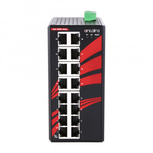 Antaira LNX-1600G (-T) 16-Port Unmanaged Gigabit Ethernet Switch