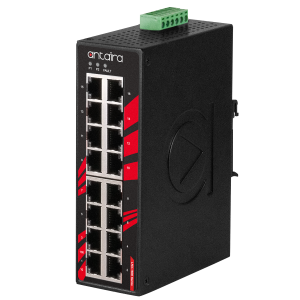 Antaira LNX-1600 (-T) 16-Port Unmanaged Fast Ethernet Switch
