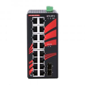 Antaira LNX-1802G-SFP (-T) 18-Port Unmanaged Gigabit Ethernet Switch