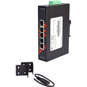 Antaira LNX-500A 5-Port 10/100TX Slim Unmanaged Ethernet Switch