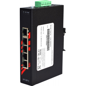 Antaira LNX-500AG 5-Port 10/100/1000T Unmanaged Ethernet Switch