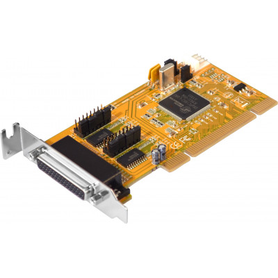 2-Port RS-232 Universal PCI Card, Low Profile, Low & Standard Profile Brackets Included