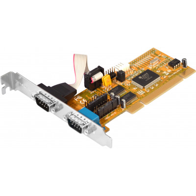 2-Port RS-232 Universal PCI Card