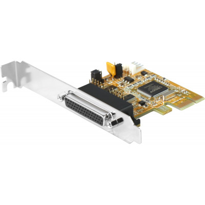 2-Port RS-232 PCI Express Card, Low Profile (Support Power Over Pin-9)