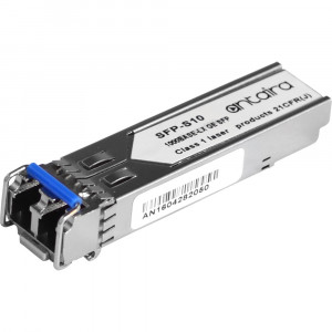 Antaira SFP-S 1.25Gbps Ethernet SFP Transceiver, Single-Mode