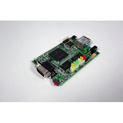 1-Port RS-232/422/485 Programmable Device Server - Bare Board, SS100B