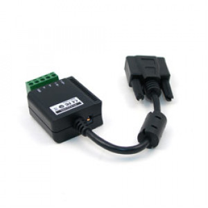 Antaira STS-1915S RS-232 to RS-422/485 Converter, Surge Protected, Port-powered