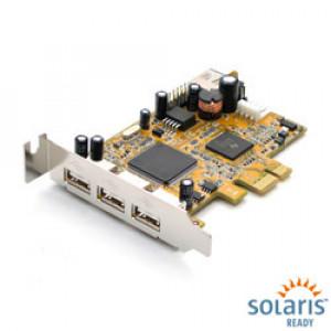 Antaira USB-68001L 4 Port USB PCI Express Card, Low Profile