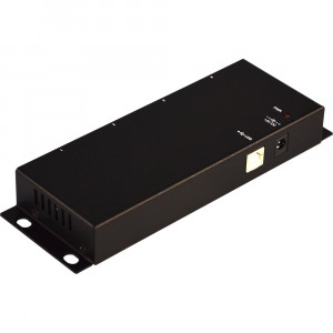 Antaira UTS-404A Industrial 4-Port RS-232 to USB 2.0 Converter