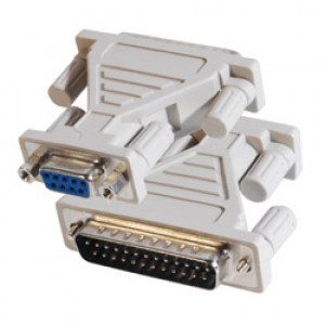 DB9 Female to DB25 Male Serial Adapter, AD-DB9F-DB25M