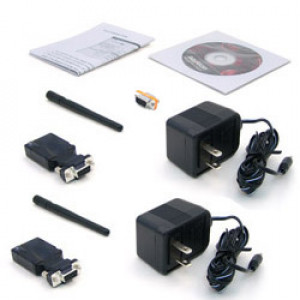 Pair of Bluetooth to RS-232 Converters, Bluetooth 2.0 Class 1, BTS-1000A-2