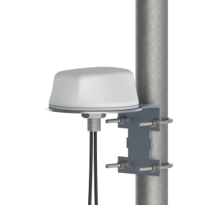 Mobile Mark LTMG308 (2x Global 5G LTE & GNSS) GNSS Multiband Surface Mount with LTM-PMK Optional Mounting Bracket