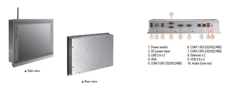 GOT3126T-834 Connector Diagram