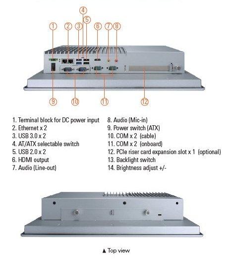 GOT3177T-311-FR I/O Diagram