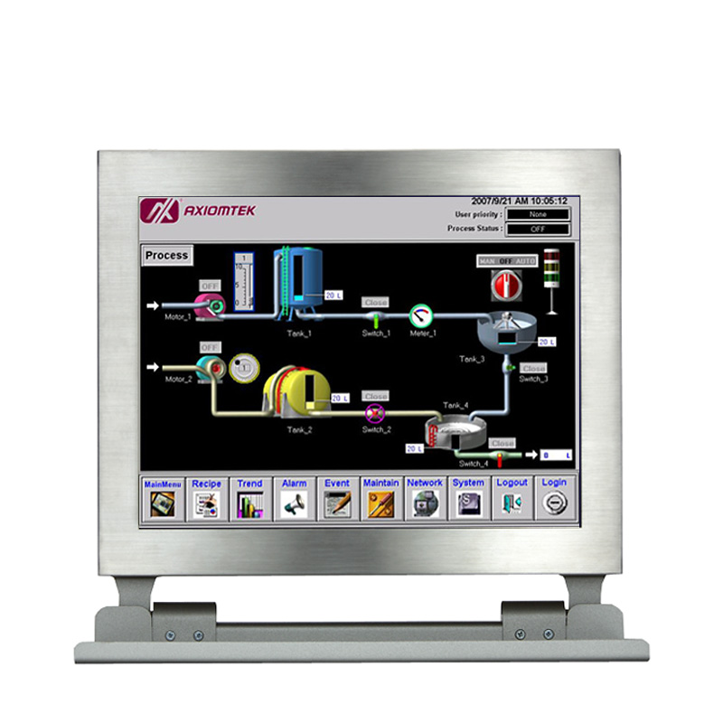 axiomtek touch panel pc